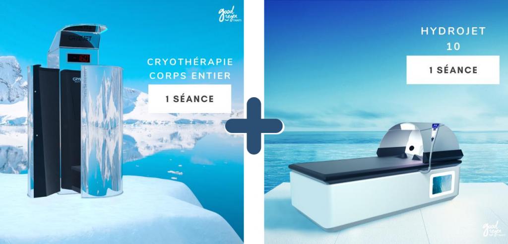 cryothérapie, hydrojet